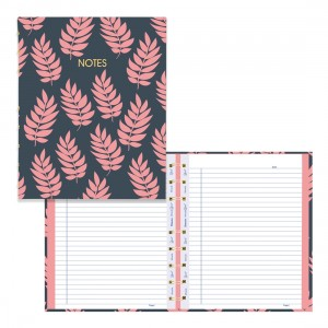 MiracleBind Coral Collection Notebook - Leaf
