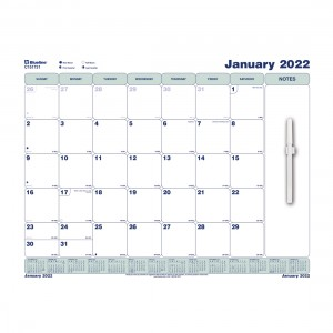 Static Cling Monthly Wall Calendar 2022