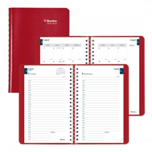 Academic Daily Planner Classic 2021-2022