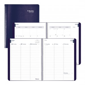 Academic Weekly Planner Classic 2021-2022