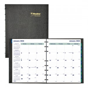 MiracleBind™/CoilPro Monthly Planner 2022, Black
