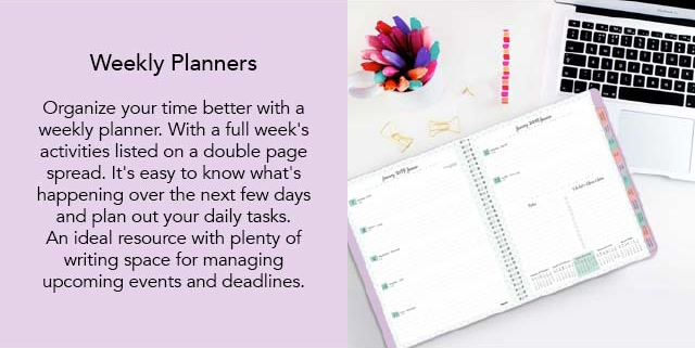 Blueline Weekly Planners