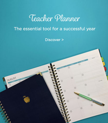 Blueline Teacher Planners